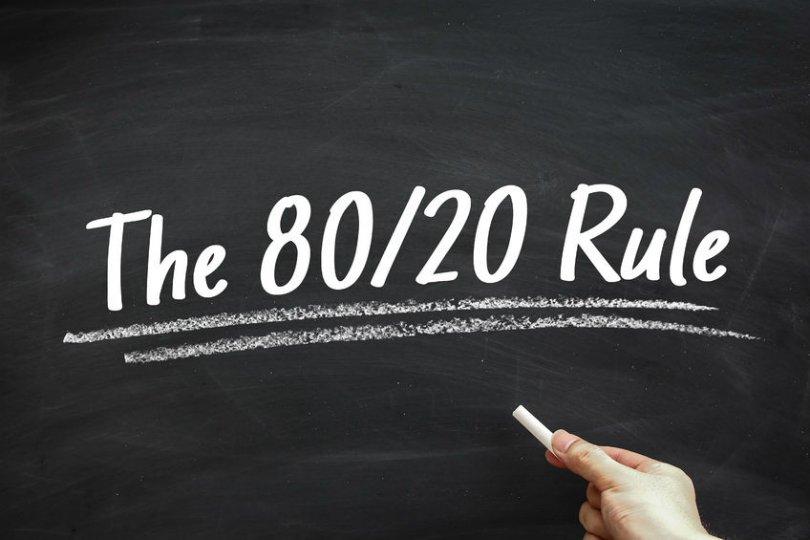 لتنجح في التسويق الالكتروني  استخدم قاعدة 80 20